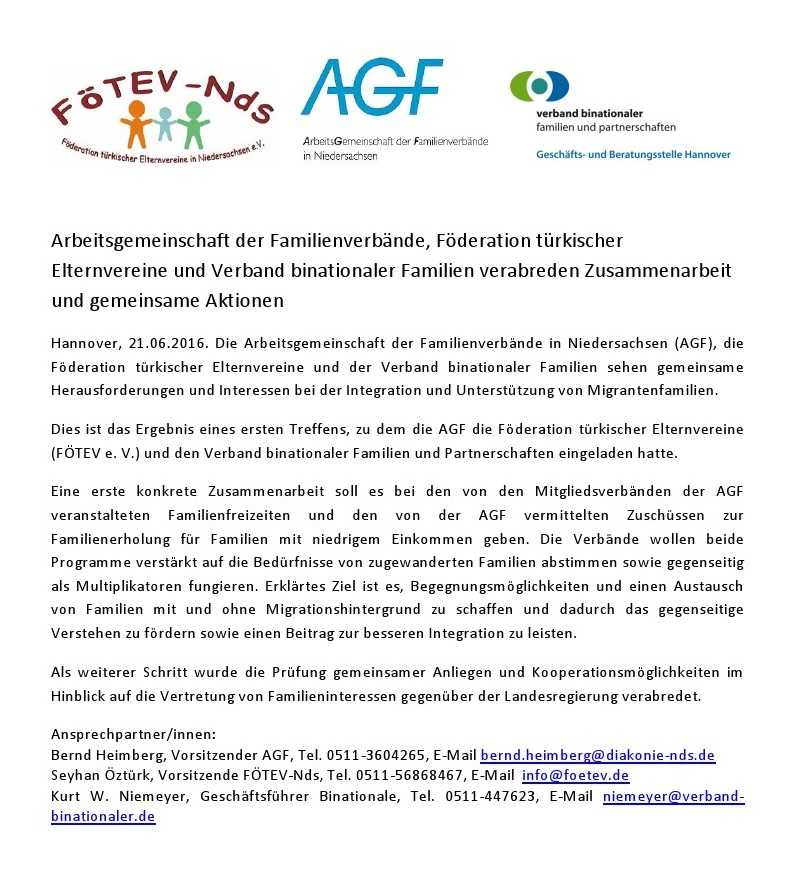 Fötev,AGF,Partnerschaften