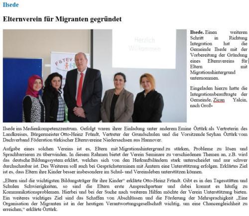 Elternverein für Migranten gegründet