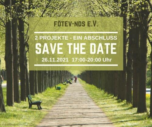 26.11.21 Projektabschluss Save the Date FB